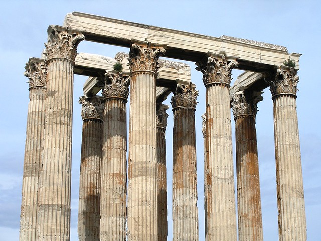 Olympieion, the temple of Olympian Zeus  Flickr - Photo ...