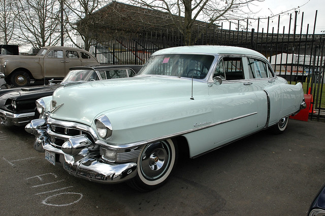 1953 cadillac series 62 4 door sedan a photo on for 1953 cadillac 4 door sedan
