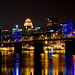 Louisville Skyline with Bridge by gregmacg