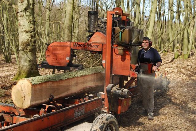 Wood Mizer Portable Sawmill Flickr Photo Sharing