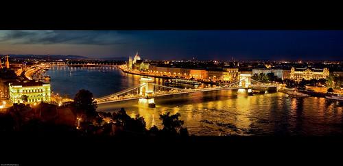 panorama heritage budapest unesco danube buda pest lánchíd chainbridge széchenyi széchenyilánchíd abigfave souvikbhattacharya