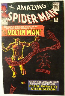 Vintage Comic Book - Amazing Spider-Man #28