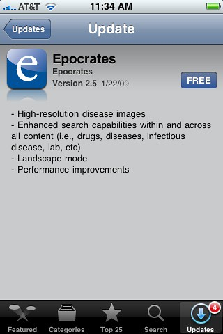Epocrates v2.5