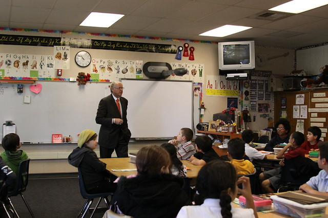 Antonovich Speaks To Students At Monte Vista Elementary School A Set On Flickr