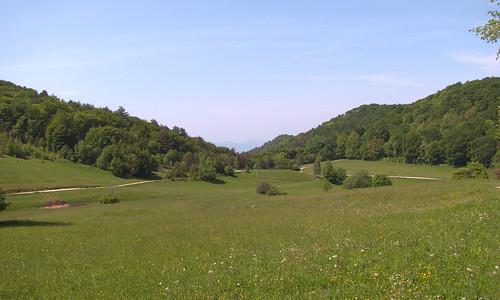 landscape spring boč