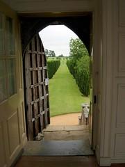 The open doorway
