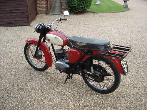 1964 BSA BANTAM D7 175  s