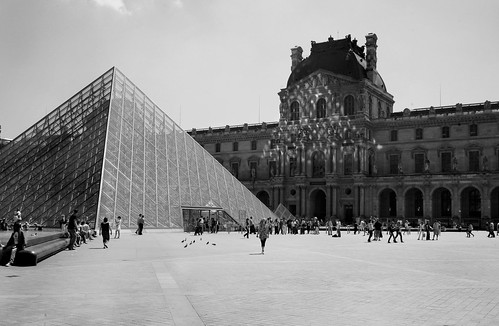 Reflection on the Louvre