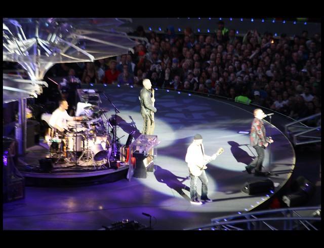 U2 In the round 360° Tour Dublin
