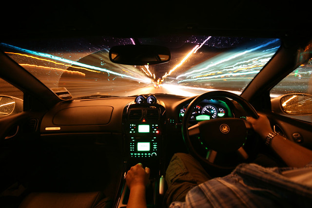 In-Car Monaro Light Trails - Image 6