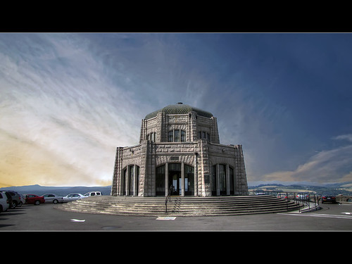 Vista House at Crown Point - HDR