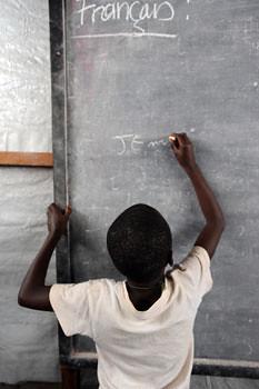 CONGO: School in Kitshanga, North Kivu