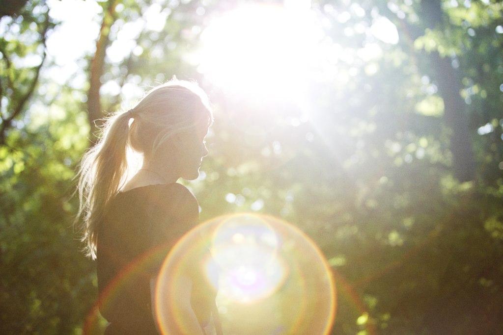 sun silhouette