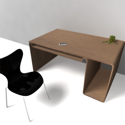 single wooden board furniture