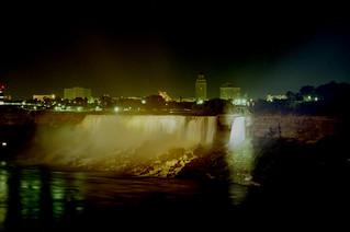 Niagara Bridal Veil Falls 1981
