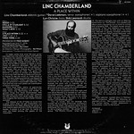 Linc Chamberland > A Place Within [back liner]