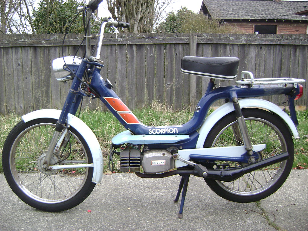 1978 Scorpion Moped Flickr