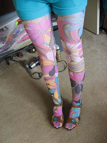 psychedelic tights