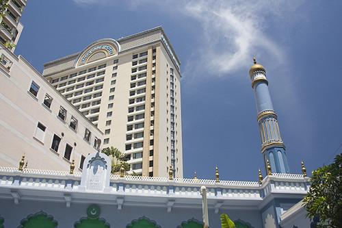 Saigon, Caravelle Hotel und mosque