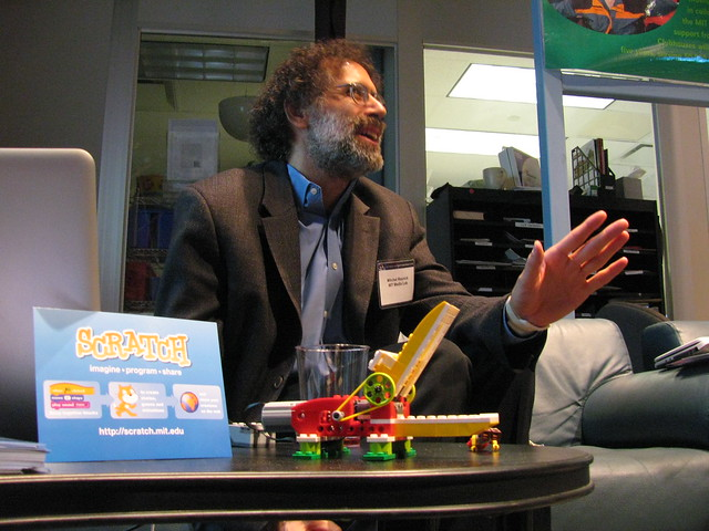 Mitch Resnick talks about Scratch and LEGO WeDo