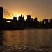 New York SkyLine at sunset by Iñigo Escalante