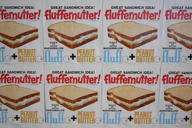 fluff + peanut butter