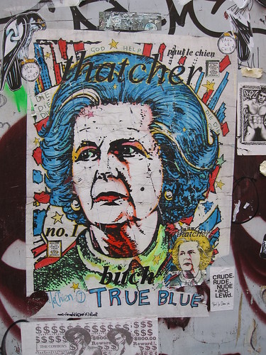 margaret thatcher - paul le chien