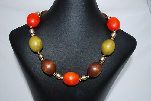 Natural spice necklace (sold)