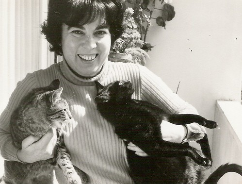 Voninha with her cats