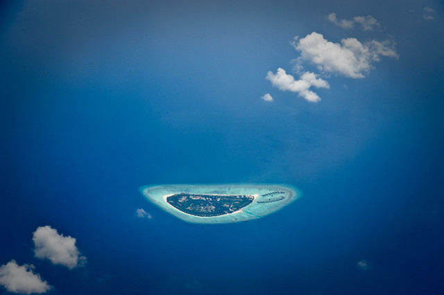 Maldives - not all doom and gloom, afterall.