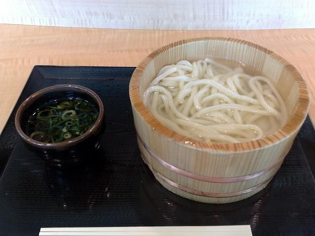 釜揚げうどん kamaage-udon