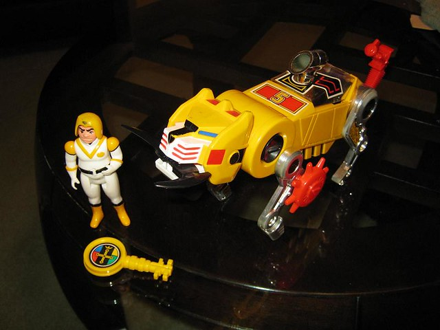 Voltron Yellow Lion Panosh PlaceVoltron Yellow Lion