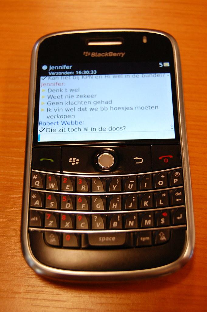 Blackberry Ping Bbm