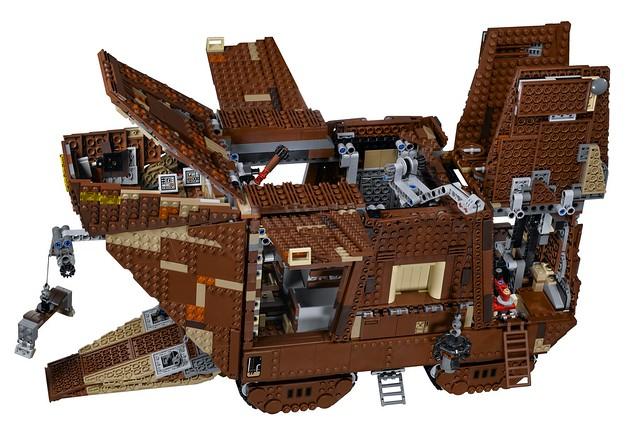 LEGO Star Wars 75059 - Sandcrawler UCS - Functions