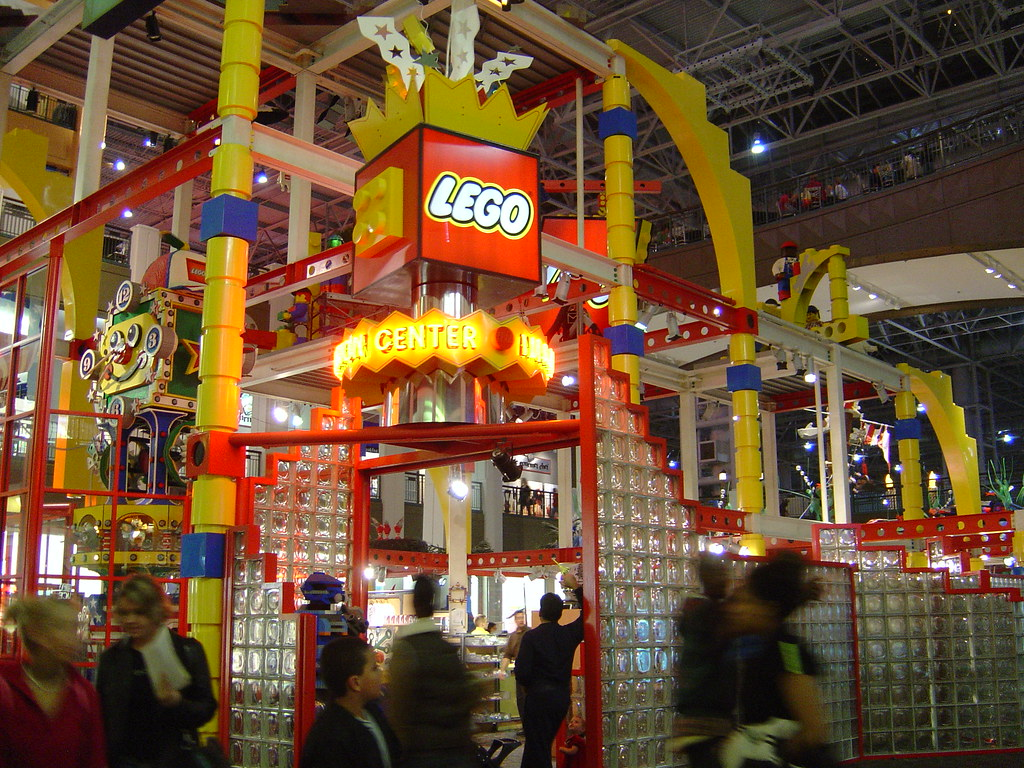 Mall of America - Lego Land