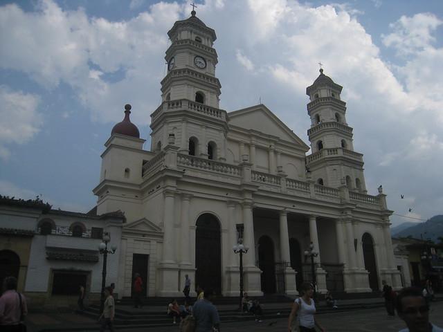 Church in Envigado Park