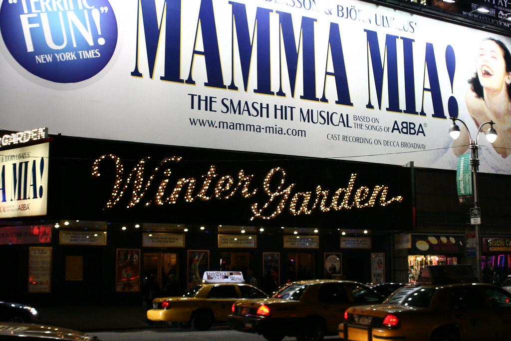 Mamma Mia! - Brodway show New York