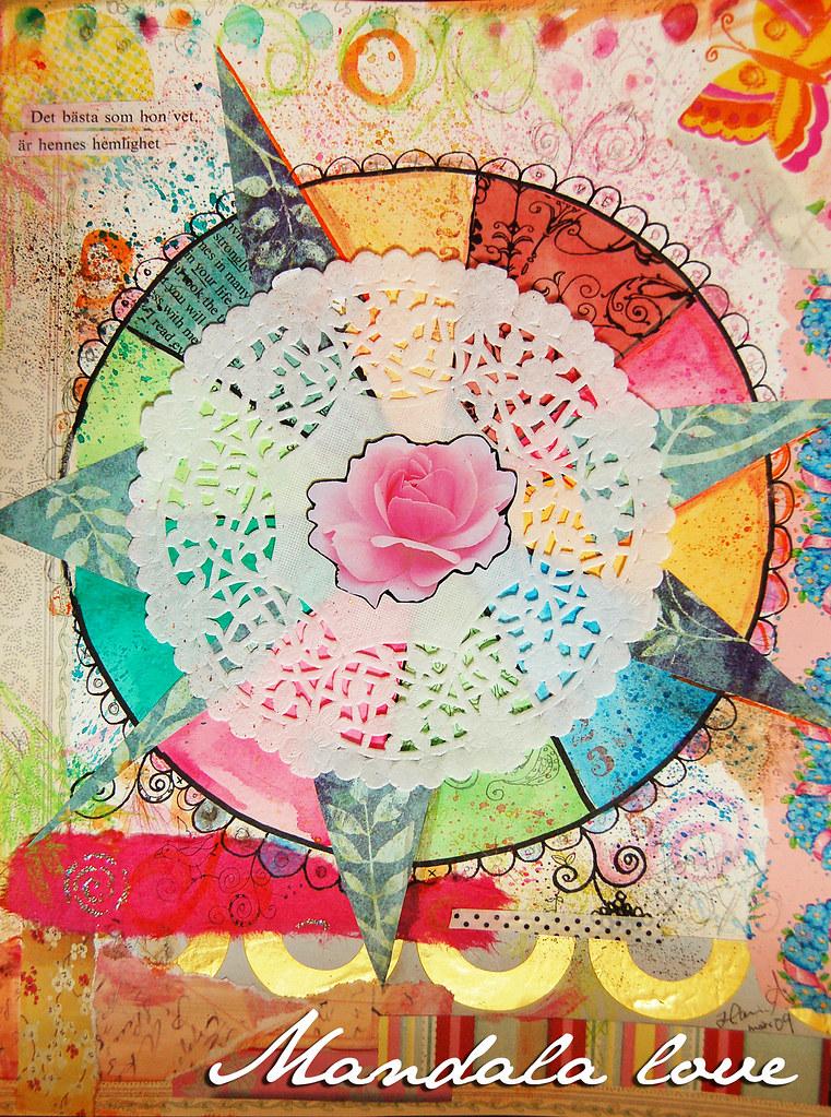 Mandala created by iHanna (copyright Hanna Andersson)