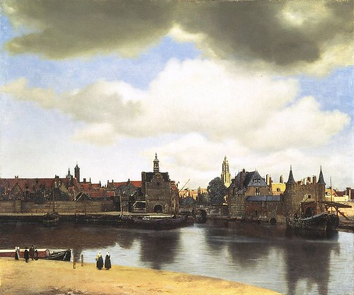 Jan Vermeer View of Delft | by jimmiehomeschoolmom