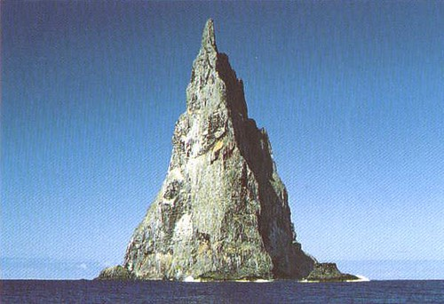 Ball's Pyramid South Pacific