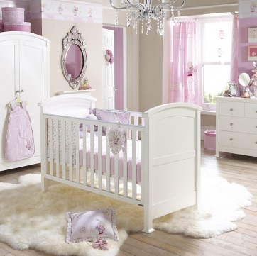 princess dream baby girl room