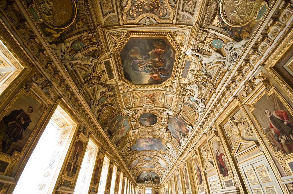 Image De Apollon plafond de la galerie d'apollon | the ceiling of the galerie… | flickr
