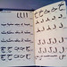 Small photo of The first 12 letters from the 'Arabic Alphabet'
