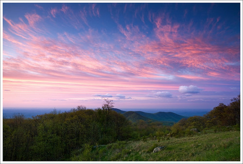 Dawn Sky - Shenandoah National Park