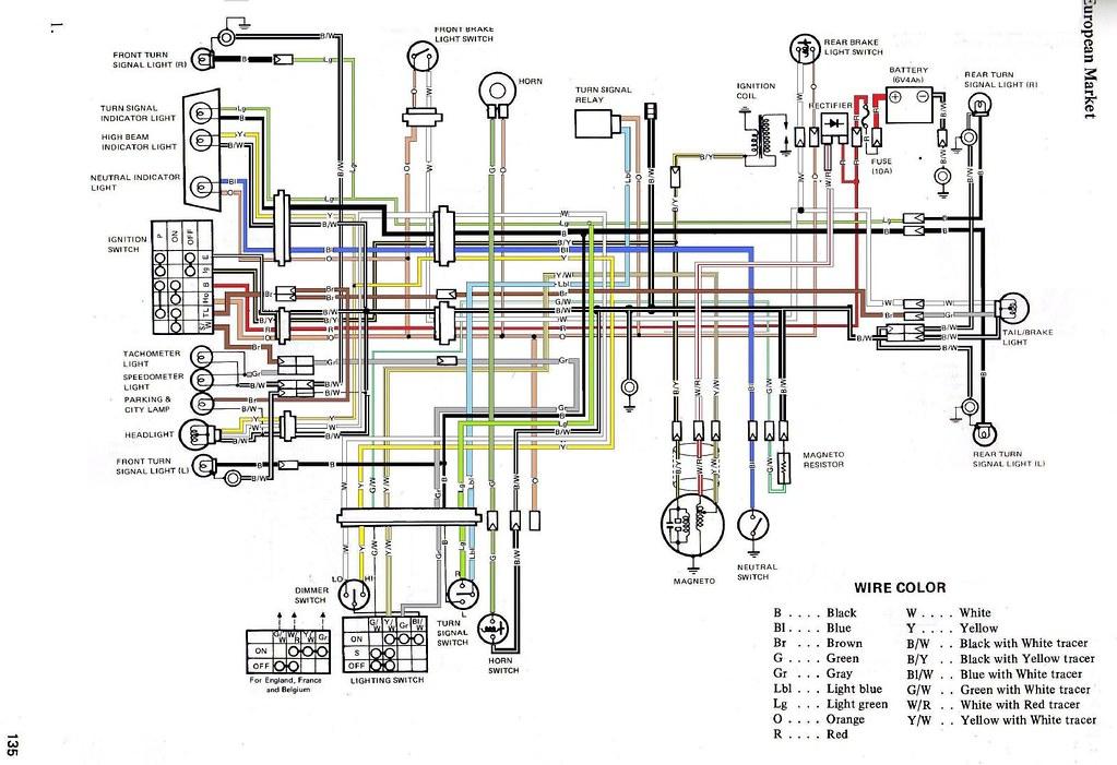 Ts125er Circuit Diagram