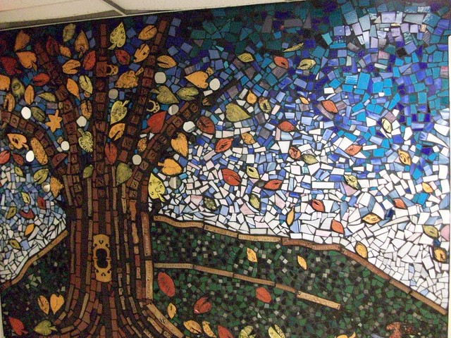 1 3 of balacynwyd middle school mural flickr photo for Cypress gardens mural