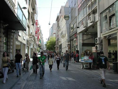 Pedestrian Street - Athens