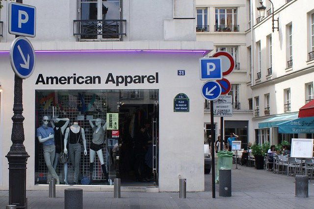 American apparel paris