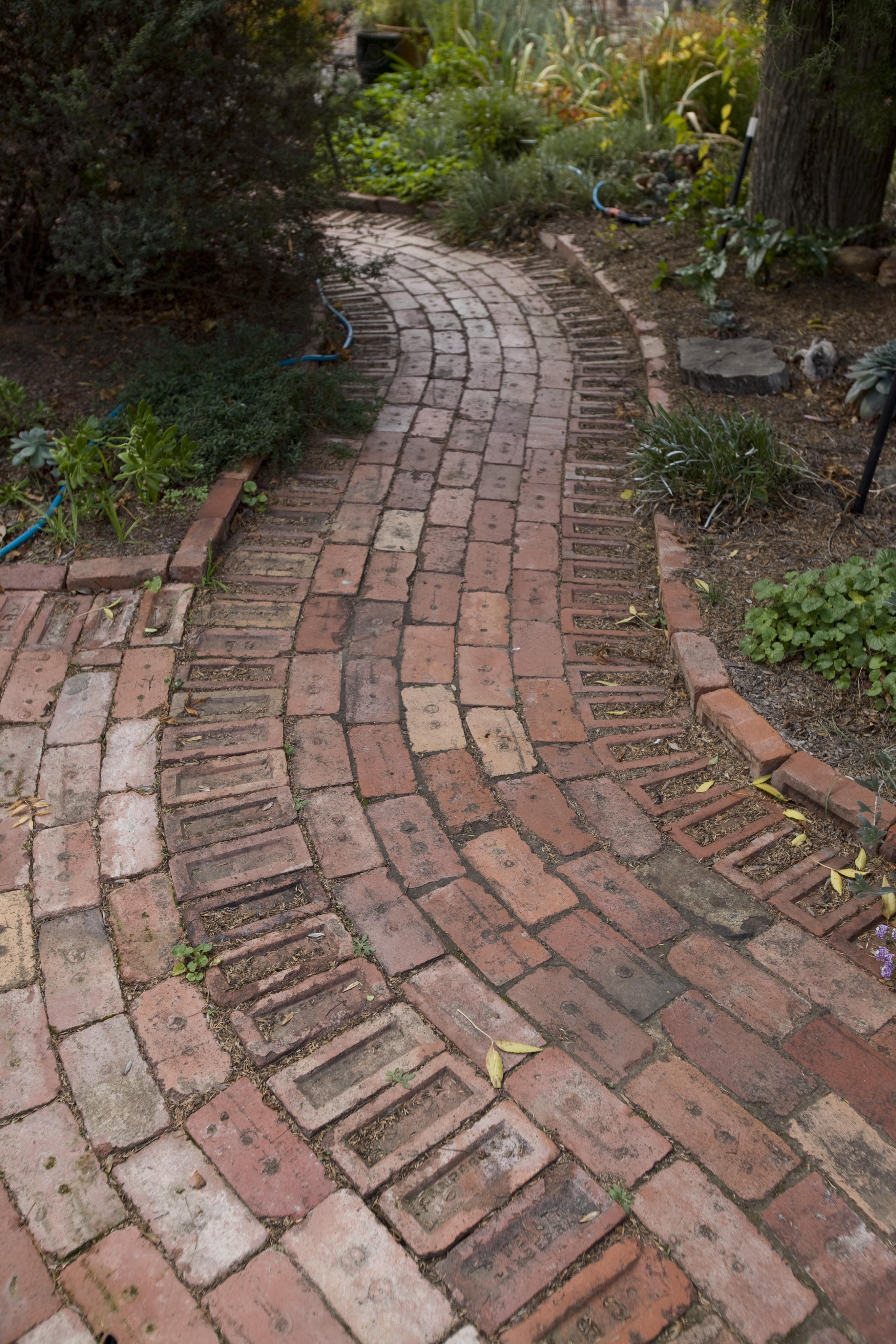 Recycled Brick Path Flickr Photo Sharing