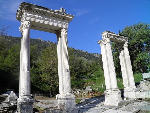 Hadrian's Gate, Ephesus, Turkey
